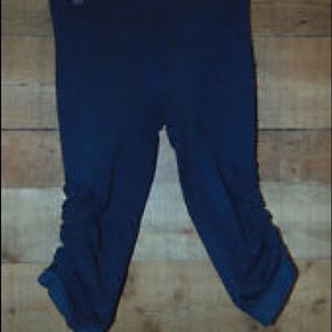 lululemon athletica Pants - Lululemon in the flow crop heathered navy 6